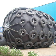 0.05Mpa Pneumatic Rubber Blocks Fenders Used For Vessel