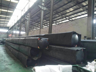 Rubber Inflated Mandrel Culvert Balloon